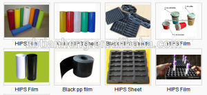 Black Conductive for Technical Blister Packaging HIPS Plastic Film pictures & photos