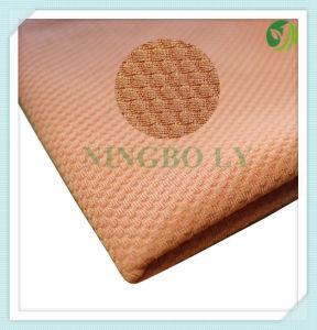 New 100% Polyester Knitting Grid Garment Fabric pictures & photos