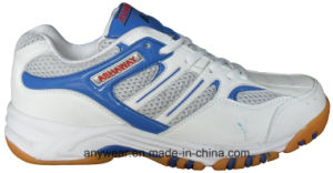 Badminton Indoor Court Shoes Tennis Footwear for Men and Women (815-9279) pictures & photos