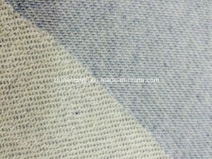 CVC French Terry C/T75/25 275GSM Yarn-Dyed Melange Knitting Fabric for Sweater pictures & photos