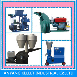 Hot Sale 1 T/H Feed Machine Granulator for Making Feed Pellet