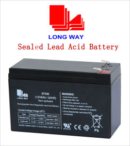 12volt Alarm Systems Solar Medical Equipment Lead Acid Battery pictures & photos