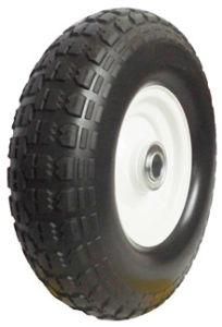 PU Wheels for Wheel Barrow Hand Trolley Tool Cart PU1312