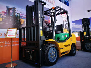 China 3t Diesel Forklift Truck with Super Big Discount pictures & photos