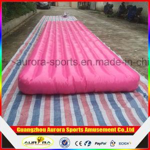 cheap folding air gymnastics mats for tumble track