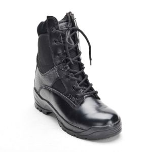 Safety Shoes with Steel Toe and Steel Plate PU Outsole Army Boots
