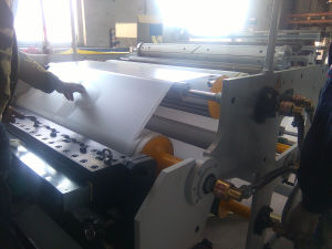 Automatic Double Label Adhesive Coating Machinery pictures & photos