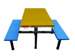 New Design School Canteen Furniture Student Dining Table & Chair for Sale pictures & photos