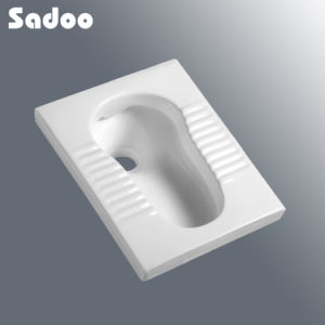 Square Ceramic Squatting Pan SD-5619b