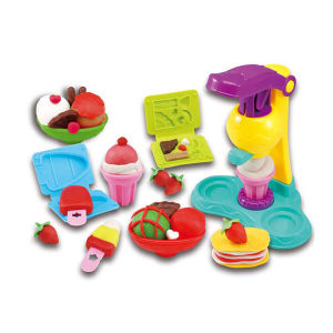 Novelty Kids Non-Dry Play Dough Set Ice Cream Maker Tool Toy (10212854) pictures & photos