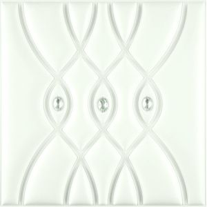 China Suoya 1085-1 Embossed 3f Leather Panel Board for Wall Decoration pictures & photos