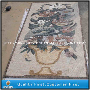 Natural Marble Stone Art Mosaic Pattern for Flooring, Wall Tile pictures & photos
