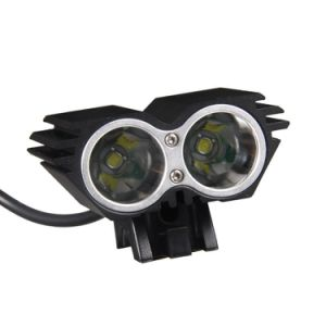 CREE Xml-L T6 LED*2 LED Bicycle Headlight (JKXT0002)
