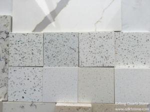 Eco Beige White Marble Prefab Kitchen Island Artificial Stone Quartz Stone pictures & photos