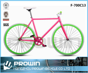 700c Colored Road Racing Fixed Bicycle/Bicicleta