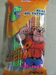 7cm Long Real Big Tattoo Bubble Gum pictures & photos