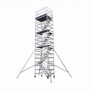 Professional Movable Ladder Tower Scaffold pictures & photos