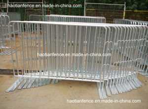 6ft X 4ft Hot Dipped Galvanized Crowd Control Barriers with Fixed Feet pictures & photos