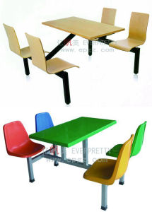 Customized School Furniture Single Desk&Chair pictures & photos