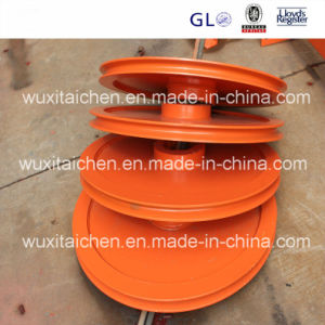 Steel Structure Fabrication Steel Wheels Cable Sheaves pictures & photos