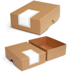 Natural Brown Kraft Cardboard Paper Gift Boxes pictures & photos