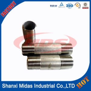 Ss304 Seamless Stainless Steel Pipe Fittings Nipple pictures & photos