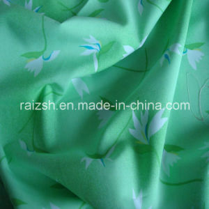 100 % Polyester Pigment Printed Peach Skin Fabric pictures & photos