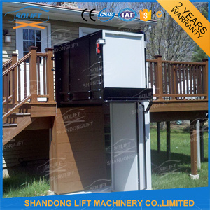 Outdoor Hydraulic One Man Lift Elevator for Old People pictures & photos