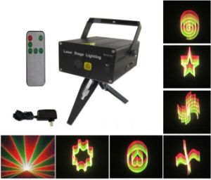 Mini Laser Stage Light with Remote Controller (XL-SL-103)