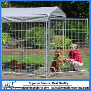 Galvanized Heavy Duty 1.8m Metal Wire Cages Dog Run Kennel pictures & photos