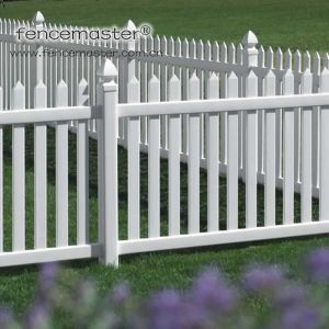 Easily Assembled Vinyl Garden Fence pictures & photos
