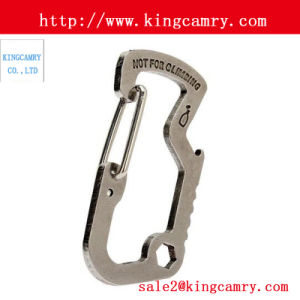 Chain Rigging Hardware Stainless Steel Climbing Hook Carabiner Spring Snap Hook pictures & photos