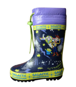High Neckline Rain Boots for Kids pictures & photos