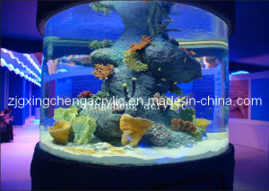 Large Glass Cylindrical Acrylic Tank Good Transparent and Cost Effective Acrylic Sheet pictures & photos