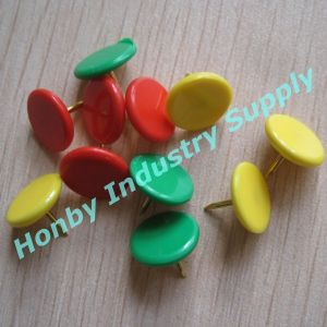 9mm Colored Plastic Thumb Shaped Thumb Tacks