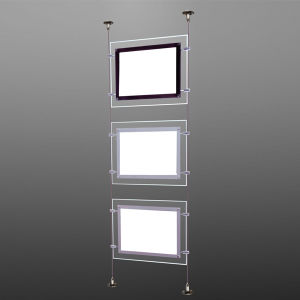 A1 A2 A3 A4 Ceiling Hanging Advertising Crystal Acrylic Picture Frame pictures & photos