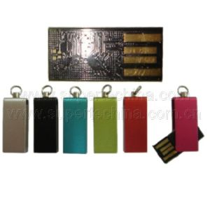 Mini Metal Swivel UDP USB Flash Drive (S1A-8211C) pictures & photos