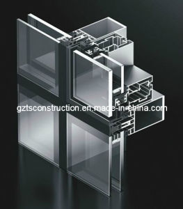 Customized European Style Curtain Wall/Unitized Curtain Wall pictures & photos