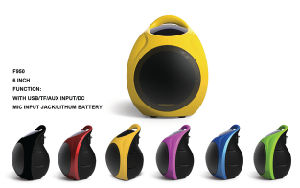 Mini Colorful Portable Speaker F950 pictures & photos