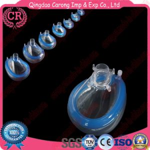 Disposable Medical PVC Anesthesia Mask pictures & photos