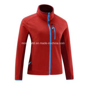 Women Micro Polar Fleece Zipper Down Light Jacket pictures & photos