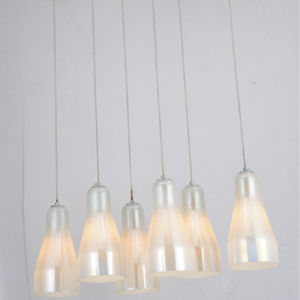 Fashion Contemporary Glass Suspended Hanging Lamp Lighting for Dining Room pictures & photos