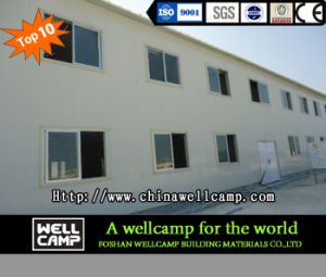 Wellcamp Factory Supply Steel Structure Building for Dormitory pictures & photos
