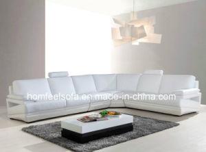 Italian Modern Corner Sectional Lounge Modular Lounge Leather Sofa (S815#)