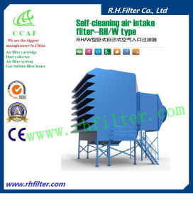 Self-Cleaning Air Intake Filter for Gas Turbine pictures & photos
