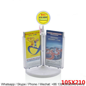 High Quality Rotating Acrylic Book Stand pictures & photos
