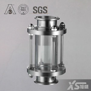 Ferrule Ends Sanitary Full View Sight Glass Flow Indicator pictures & photos