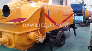 60m3/Hour Electromotor Trailer Mounted Concrete Pump pictures & photos