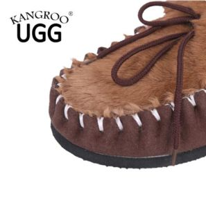 Hand Made Casual Shoes for Men with Kangaroo Skin Fur pictures & photos