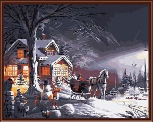 Factory Price DIY Oil Painting on Canvas Gx6172